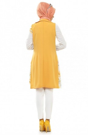 Deniz Akdağ Yelek Sarı 4021-29