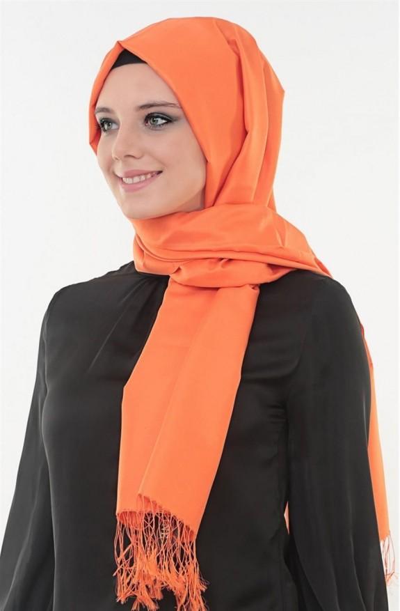 Armine Zulal Saf İpek Şal Z0011-34